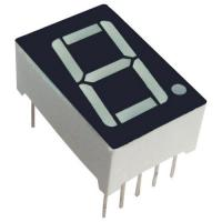 China Common Anode 7 Segment Display / 25.4mm Seven Segment Display PCB Mounting on sale