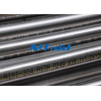China Heat Exchanger Stainless Steel Welded Tubing ASTM A270 / A249 For Papermarking wholesale