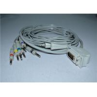 China Siemens / Hellige Cardiostat 1 EKG Cable With Leadwires / Banana 4.0mm wholesale