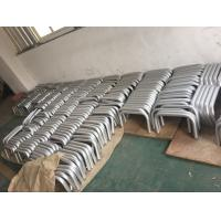 China Machining Silver Anodized AA20um Aluminium Round Tube with Holes wholesale