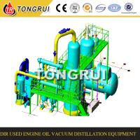 Waste engine oil recycling equipment for regenerating for Used motor oil recycling equipment