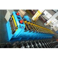 China Post Cutting Silo Roll Forming Machine With Wall Panel Structure Gcr15 Roller wholesale