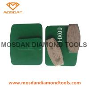 China Husqvarna Redi Lock Metal Bond Segment Diamond Concrete Grinding Disc on sale
