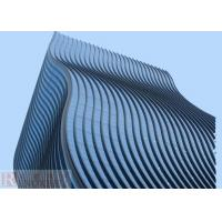 Quality Wave   Aluminium Wall Panels Wall Cladding / Facade Decoration for sale