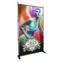 China Step Repeat Backdrop Adjustable Banner Stands Display System Telescopic Wall wholesale