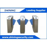 China Anti - Temperature Turnstile Flap BarrierWith Fire / Scour Protection Function wholesale