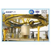 Non Woven Fabric Roll Material Handling Equipment , Chaint Roll Handling Systems