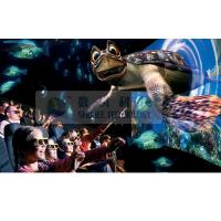 China Realistic 6D Cinema Simulator With Cinema Special Effects And Curved Screen wholesale