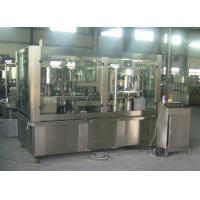 China Adjustable Sparkling Water PET Can Filling Machine Industrial Line 2000 Cans / Hour wholesale