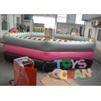 China CE Certificated Inflatable Wipeout Course For Adult Inflatable Games Waterproof wholesale