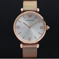 China Wholesale NEW EMPORIO ARMANI AR1956 GIANNI T-BAR GOLD MESH WHITE DIAL 32MM LADIES WATCH wholesale