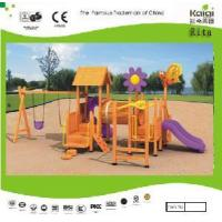 China Wooden Outdoor Playground (KQ9158A) wholesale