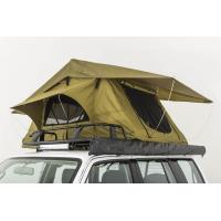China Double Layer Vehicle Top Tent , Truck Parts Jeep Wrangler Roof Rack Tent wholesale