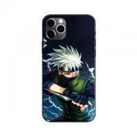 China Custom Lenticular Cell Phone Case With Anime Naruto One Piece Images Flip Cell Phone Cover wholesale