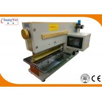 Quality Pre Scoring PCB Separator V - Groove PCB Depaneling Machine For SMT Assembly for sale