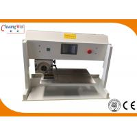 China V Cut Pcb Depaneling Equipment  Pcb Separator Machine With Circular / Linear Blade wholesale