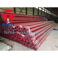 China Round Erw Q235 Welded Steel Tube , Black Painted Erw Steel Pipe Gb/t9711-2011 Psl1 wholesale