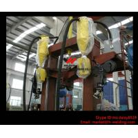 China T / I / H Beam Welding Line With Automatic Flux Recycling System Assembly and Straightening wholesale