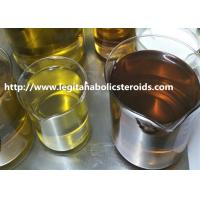 China Pharmaceutical Yellow Steroids Powder Trenbolone Acetate For Muscle Growth wholesale