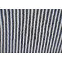 China Beautiful Cotton Blended Fabric / Yarn Dyed Stripe Fabric Shrink - Resistant wholesale