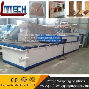 China PVC film MDF Kitchen vacuum membrane press machine wholesale
