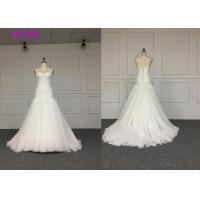 China Trumpet Sweetheart Neck Mermaid Style Wedding Dress For Tall Woman Floor Length wholesale