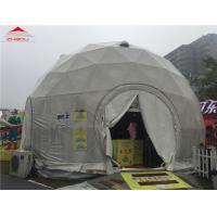 China Wind - Resistant Lightweight Geodesic Tent For Outdoor Exhibitions 20 Years Life Span on sale
