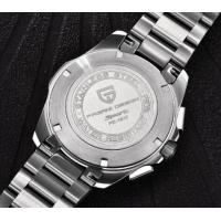 Quality PAGANI DESIGN Men 316L Stainless Steel 6 Hands Multifunction Chronograph Wrist for sale