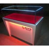 China 42 PCS 10.08W Aluminum Color Led Jewellery Display Light fixtures for jewelry showcase wholesale