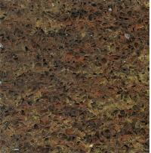China Golden Autumn Quartz Stone Countertop , Laminate Artifical quartz kitchen worktops wholesale