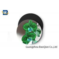 China Stunning Flower Personalised Round Coasters , Print Your Own Coasters 3D Lenticular Picture wholesale
