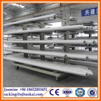 China Cantilever racking system with wheels wholesale