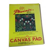 China 10 Sheets Drawing Sketch Pad Artist Canvas , Acrylic Primed Any Medium Canvas Pad For Drawing wholesale