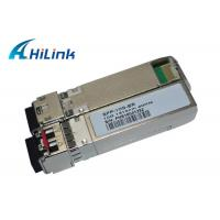 China ER 40km 1310nm SFP+ Optical Transceiver Module Compatible With Cisco / Mikrotic / Huawei wholesale
