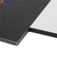 China LLDPE Core 4mm PVDF Aluminum Composite Panel Brushed Mill Finish wholesale