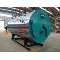 China Horizontal Style Gas Fired Water Boiler / 3 Pass Fire Tube Boiler PLC Control System wholesale