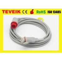 China Drager Invasive Blood Pressure Cable round 6pin to BD adapter for drager patient monitor wholesale