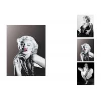 China Star Marilyn Monroe 3D Lenticular Flip With 3 Imges Changing Effect / MDF Frame wholesale