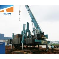 China T-WORKS 120T Hydraulic Piling Machine for Concrete Spun and Square Pile Without Noise And Vibration wholesale