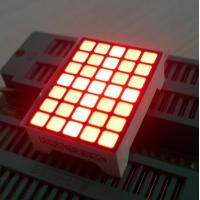 China Ultra Red Dot Matrix Led Display 5x7  22 x 30 x 10 mm For Lift Position wholesale