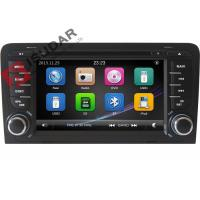 China Capacitive Screen Audi Car Dvd Player , Double Din Car Media Player With DVD Speed Reading on sale