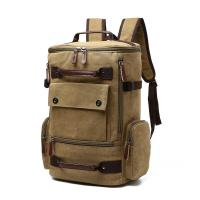 China Solid Stylish College Backpacks For Men /Men's Large Capacity Backpack With Back Support wholesale