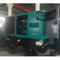 China 30kw Soundproof Cummins diesel generator  37.5 kva generator with trailer  three phase  fast delivery wholesale