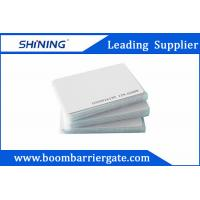 China 0.86mm 13.56 MHz Smart PVC RFID Card For Electronic Toll Collection Management wholesale
