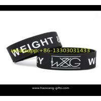 Quality 10 Years Experience Customized Printed/Debossed/Embossed Logo Silicone wristband for sale