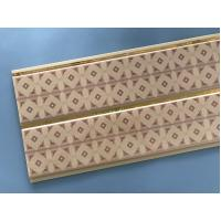 China 10 Inch Water Resistant Bathroom Wall Panels With PVC Resin Material wholesale