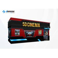 China Optional Seats 5D Movie Theater Luxury Motion Chairs Flat Screen Dual Core Computer on sale