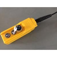 Buy cheap Mini Hydraulic Power Pack Components KGY-3 2 Buttons 3 Wires Remote with on / off key from wholesalers