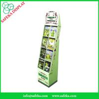 China Eight pockets China Manufacturer supermarket equipment floating shelf  display for DVD CD wholesale