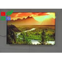 China DC 12V / 24V LED Fabric Light Box High Brightness For Garment Clothes Store Display wholesale
